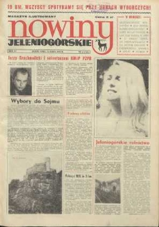 Nowiny Jeleniogórskie : magazyn ilustrowany ziemi jeleniogórskiej, R. 15, 1972, nr 11 (722)