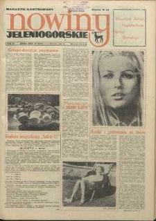 Nowiny Jeleniogórskie : magazyn ilustrowany ziemi jeleniogórskiej, R. 15, 1972, nr 13 (724/725)