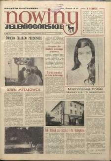 Nowiny Jeleniogórskie : magazyn ilustrowany ziemi jeleniogórskiej, R. 15, 1972, nr 15 (726)