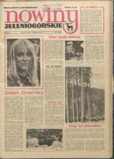 Nowiny Jeleniogórskie : magazyn ilustrowany ziemi jeleniogórskiej, R. 15, 1972, nr 22 (733)