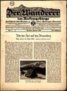 Der Wanderer im Riesengebirge, 1940, nr 1