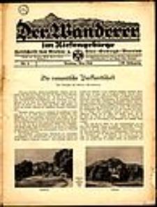 Der Wanderer im Riesengebirge, 1940, nr 5