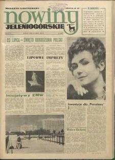 Nowiny Jeleniogórskie : magazyn ilustrowany ziemi jeleniogórskiej, R. 15, 1972, nr 29 (740)