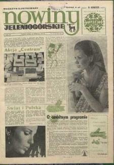 Nowiny Jeleniogórskie : magazyn ilustrowany, R. 15, 1972, nr 51/52 (751/752!)