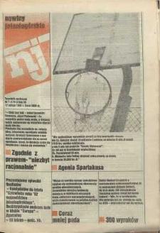 Nowiny Jeleniogórskie : tygodnik społeczny, [R. 36], 1993, nr 7 (1711!)