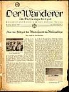 Der Wanderer im Riesengebirge, 1942, nr 1