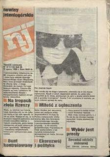 Nowiny Jeleniogórskie : tygodnik społeczny, [R. 36], 1993, nr 12 (1716!)