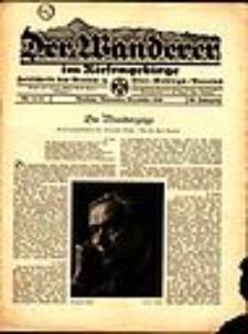 Der Wanderer im Riesengebirge, 1940, nr 11/12