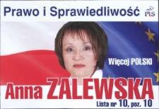 Prawo i Sprawiedliwość. Anna Zalewska