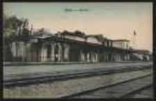 Ohlau - Bahnhof [Dokument ikonograficzny]