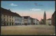 Ohlau – Ring u. Ev. Kirche [Dokument ikonograficzny]