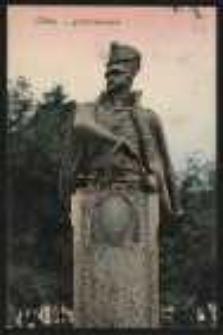 Ohlau – Schill-Denkmal [Dokument ikonograficzny]