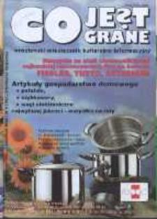 Co Jest Grane : wrocławski miesięcznik kulturalno-informacyjny, 1996, nr 4 (26)