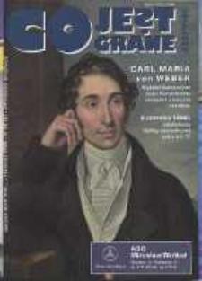 Co Jest Grane : wrocławski miesięcznik kulturalno-informacyjny, 1996, nr 6 (28)