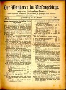 Der Wanderer im Riesengebirge, 1881, nr 2