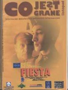 Co Jest Grane : wrocławski miesięcznik kulturalno-informacyjny, 1996, nr 11 (33)