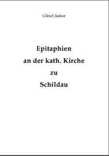 Epitaphien an der kath. Kirche zu Schildau [Dokument elektroniczny]