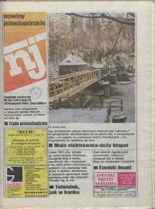 Nowiny Jeleniogórskie : tygodnik społeczny, [R. 36], 1993, nr 48 (1751!)