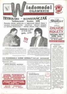 Wiadomości Oławskie, 1993, nr 3 (42)