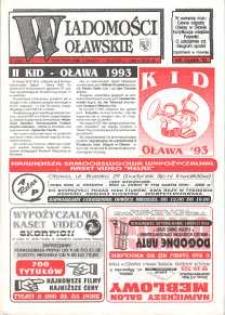 Wiadomości Oławskie, 1993, nr 6 (45)