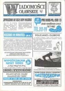 Wiadomości Oławskie, 1993, nr 8 (47)