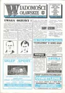 Wiadomości Oławskie, 1993, nr 10 (49)