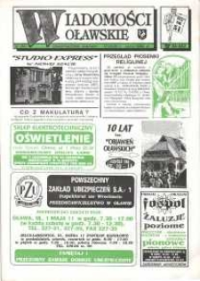 Wiadomości Oławskie, 1993, nr 12 (51)