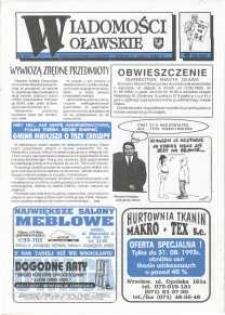Wiadomości Oławskie, 1993, nr 15 (54)
