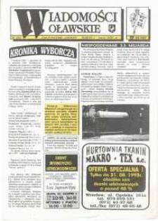 Wiadomości Oławskie, 1993, nr 16 (55)