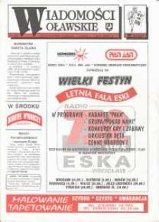 Wiadomości Oławskie, 1993, nr 17 (56)