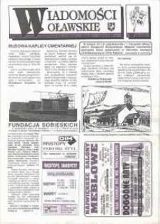 Wiadomości Oławskie, 1993, nr 21 (60)