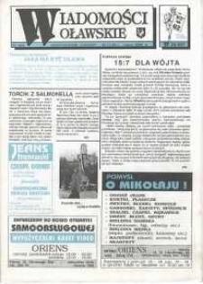 Wiadomości Oławskie, 1993, nr 23 (62)