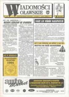Wiadomości Oławskie, 1993, nr 24 (63)