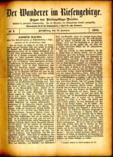 Der Wanderer im Riesengebirge, 1882, nr 5