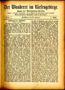Der Wanderer im Riesengebirge, 1882, nr 6