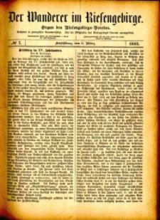 Der Wanderer im Riesengebirge, 1882, nr 7