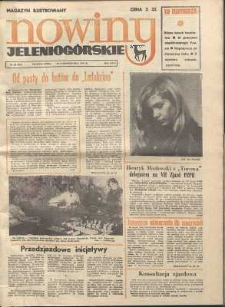 Nowiny Jeleniogórskie : magazyn ilustrowany, R. 17!, 1975, nr 43 (901)