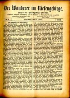 Der Wanderer im Riesengebirge, 1882, nr 8