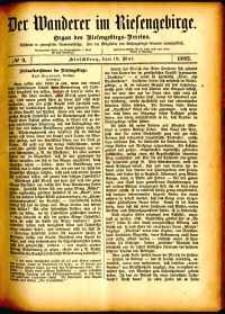 Der Wanderer im Riesengebirge, 1882, nr 9