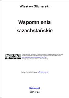 Wspomnienia kazachstańskie