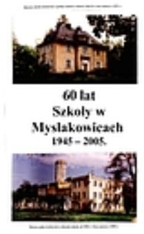 60 lat szkoły w Mysłakowicach 1945-2005