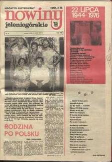 Nowiny Jeleniogórskie : magazyn ilustrowany, R. 18!, 1976, nr 29 [939]
