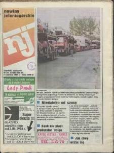 Nowiny Jeleniogórskie : tygodnik społeczny, R. 36, 1994, nr 23 (1778)