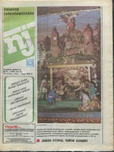 Nowiny Jeleniogórskie : tygodnik społeczny, R. 36, 1994, nr 51 (1806)