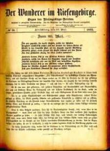 Der Wanderer im Riesengebirge, 1882, nr 10