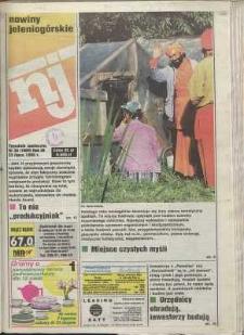 Nowiny Jeleniogórskie : tygodnik społeczny, R. 38, 1996, nr 30 (1989)