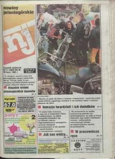 Nowiny Jeleniogórskie : tygodnik społeczny, R. 38, 1996, nr 31 (1990)