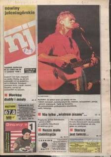 Nowiny Jeleniogórskie : tygodnik społeczny, R. 38, 1996, nr 33 (1992)