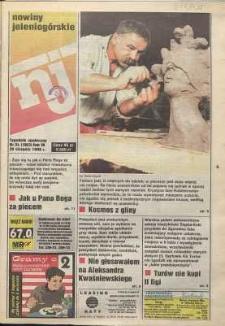 Nowiny Jeleniogórskie : tygodnik społeczny, R. 38, 1996, nr 34 (1993)