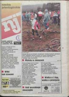 Nowiny Jeleniogórskie : tygodnik społeczny, R. 38, 1996, nr 40 (1999)